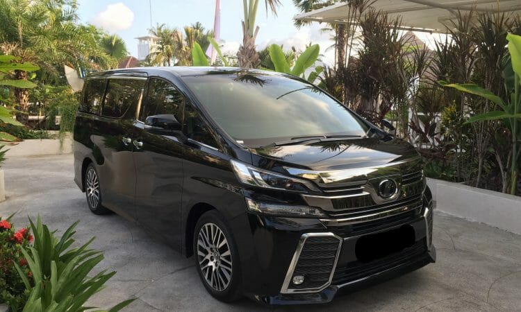 luxury vehicle hire bali vellfire finns rental airport luxury shuttle golf discount golf stay and play