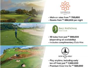 bali golf discount bali golf promotion golf package bali handara golf course bali national golf course New Kuta Golf bali villa handara golf & Resort bali national golf club